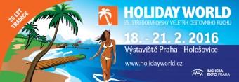Jubilejní 25. veletrh cestovního ruchu Holiday World 2016