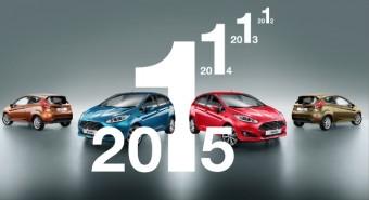 Ford Fiesta nejprodávanějším malým vozem v Evropě, foto zdroj: Ford Motor Company