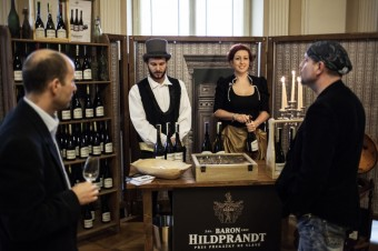 Baron Hildprandt, Galadegustace palác Žofín, Premier Wines & Spirits