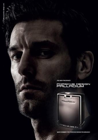 Mark Webber, tvář značky Porsche Design, foto zdroj: FAnn parfumerie