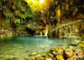 Vodopády Damajagua, foto zdroj: Národní turistický úřad Dominikánské republiky