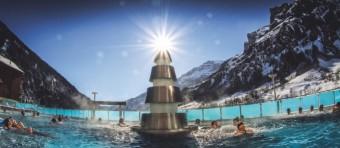 Leukerbad největší termální lázně v Alpách, foto: Leukerbad