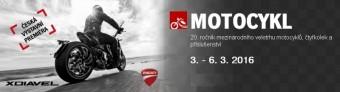 Veletrh Motocykl 2016, Incheba Expo Praha