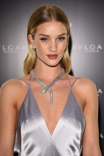 Rosie Huntington-Whiteley je novou ambasadorkou doplňků BVLGARI, foto kredit: Bulgari, Getty Images