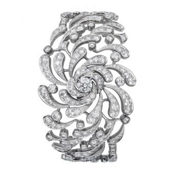 Dahlia náramek, platina a diamanty, Vincent Wulveryck, CARTIER