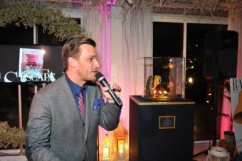 Moderátor charitativního večera Leoš Mareš
