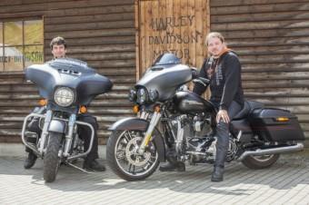Luis Castilla a Jan Toužimský, Discover More, Harley-Davidson