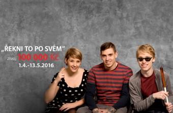 Veronika, Lukáš a Kuba, projekt Řekni to po svém, www.chodicilide.cz, Nadace Sirius