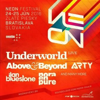 NEON festival, Zlaté Piesky, Bratislava
