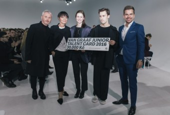 VAN GRAAF Junior Talent 2016 Winner, Mercedes-Benz Prague Fashion Week