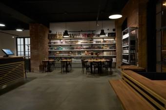 Premier Mercato: bistro a prodejna delikates
