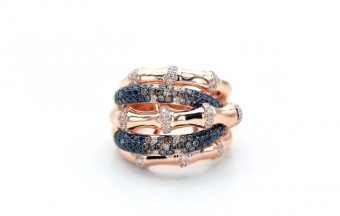 DIC Bamboo Ring, cena: 111 000,- Kč, Diamonds International Corporation