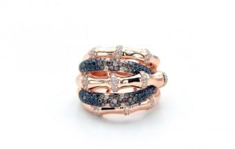DIC Bamboo Ring, cena: 111 000,- Kč, Diamonds International Corporation