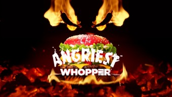 Pikantní Angriest WHOPPER®, zdroj: BURGER KING