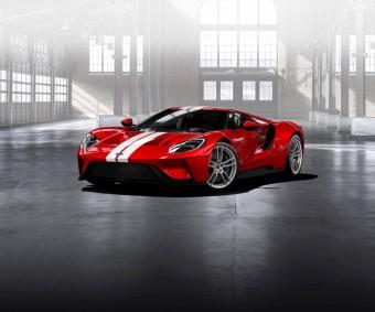 Ford začal přijímat žádosti o koupi nového Fordu GT