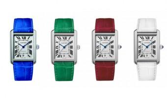 Svěží barvy pro hodinky Tank Solo, Cartier