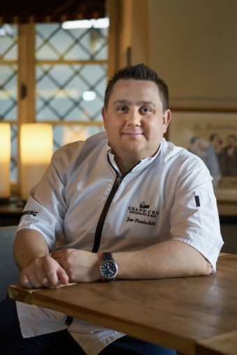 Šéfkuchař Jan Punčochář je českou tváří švýcarských hodinek Oris, Premier Wines & Spirits