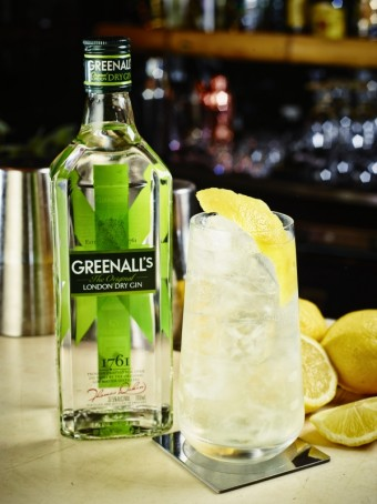 Gin Fiz, Greenall's riginal London Dry Gin, Premier Wines & Spirits