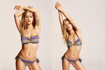 Rita Ora ambasadorka letní kolekce 2016, Tezenis