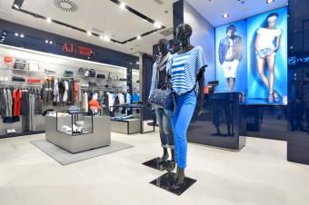 Prodejna Armani Jeans Nový Smíchov, Premium Fashion Brands