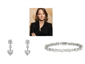 Jodie Foster, diamantová kolekce Cartier, Filmový festival v Cannes, foto zdroj: Cartier