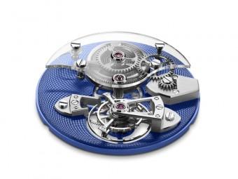 TES Blue, kolekce Royal TES Tourbillon, Arnold & Son, Klenotnictví Beny