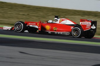 Ferrari F1 - Sebastian Vettel, foto zdroj: Legendy 2016