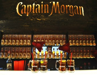 Loď Captain Morgan