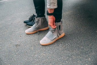 Legendární Yeezy Boost 750 ve Footshopu, kovo selection, from Peter Kovac
