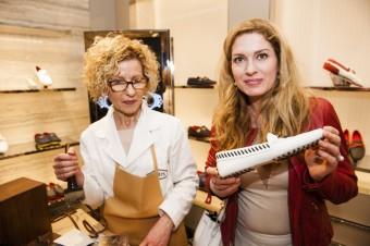 Na své mokasíny Tod´s Gommino si nechala udělat monogram i Olga Menzelová, Luxury Brand Management