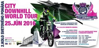 City Downhill World Tour 2016, Monster Energy