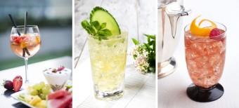 Zleva: Alfonso Spritz, foto: Oblaca Restaurant; Hugo Spritz a Paloma Spritz, Premier Wines & Spirits