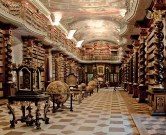 Barokní knihovní sál, Klementinum, foto: Eva Hodíková