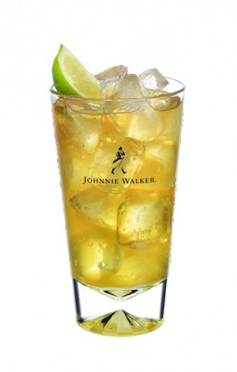 Johnnie Walker Red and Iced Green Tea