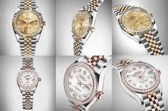 Rolex Oyster Perpetual Datejust a Rolex Oyster Perpetual Lady-Datejust, CAROLLINUM