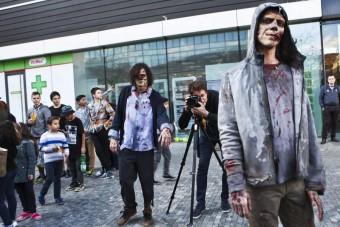Na Mácháči budou tančit zombíci, stanice AMC