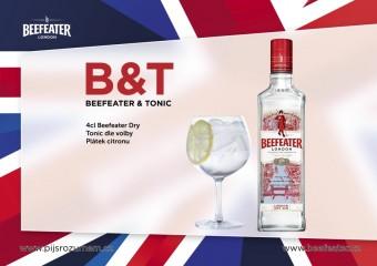 Gin Beefeater London Dry představuje nový design lahve