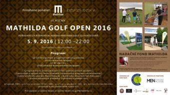 VI. ročník Mathilda Golf Open 2016, Nadační fond Mathilda