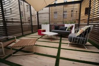 Los Kachlos HOME terasa s nábytkem Egoe