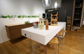 Kuchyně Plan 3 v interiéru Los Kachlos HOME s prvky La Botella