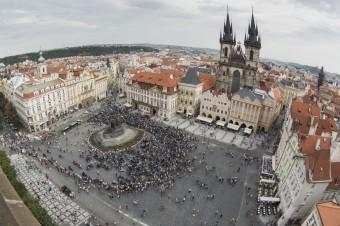 Prague Harley Days 2016, Staroměstské náměstí, zdroj: Harley-Davidson