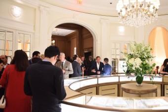 Znovuotevření butiku Cartier v New Yorku
