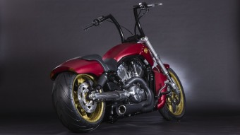 Super Hero Customs, Iron Man, Harley-Davidson