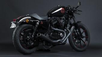 Super Hero Customs, Black Widow, Harley-Davidson
