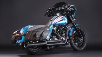 Super Hero Customs, Captain America, Harley-Davidson