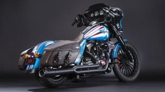 Super Hero Customs, Captain America, Harley-Davidson