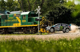 Ken Block´s Gymkhana NINE 2016, Monster Energy