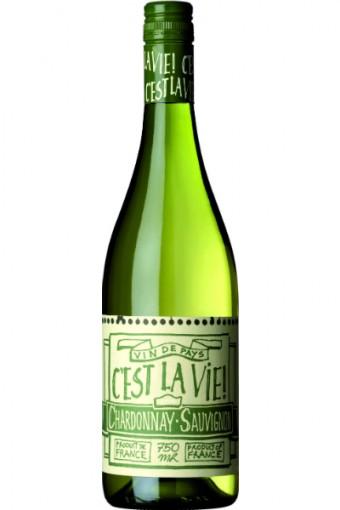 Chardonnay Sauvignon Blanc, C'est La Vie<br><br>Cena: 199 Kč.