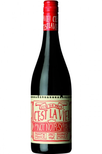 Pinot Noir Syrah, C'est La Vie<br><br>Cena: 199 Kč.