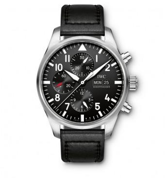 IWC Pilot s chronografem, cena 156 800 Kč, Carollinum